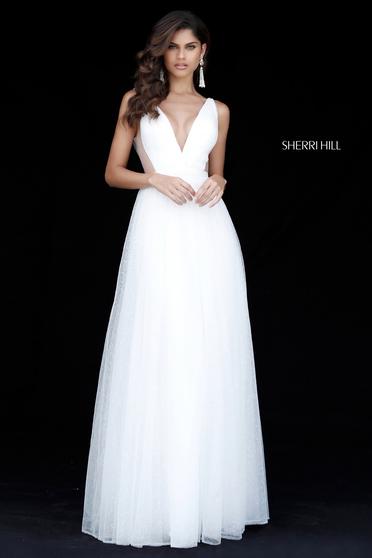 Rochie Sherri Hill 51620 White