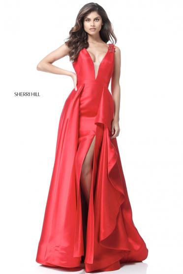 Rochie Sherri Hill 51627 Red