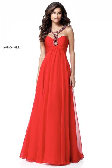 Rochie Sherri Hill 51639 Red