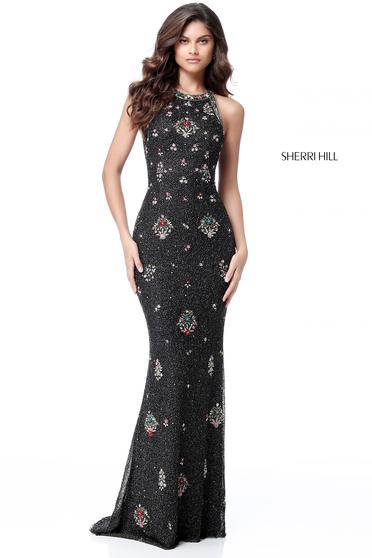 Rochie Sherri Hill 51661 Black
