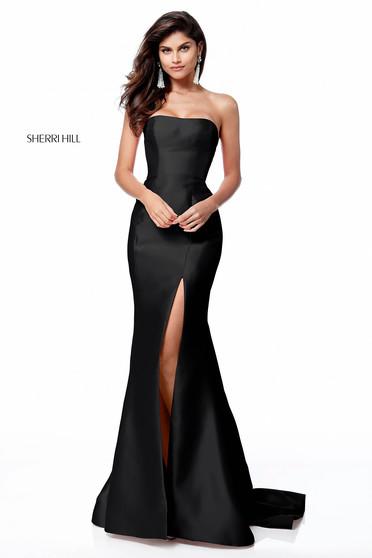 Rochie Sherri Hill 51671 Black