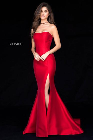 Rochie Sherri Hill 51671 Red