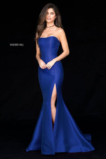 Rochie Sherri Hill 51671 Blue