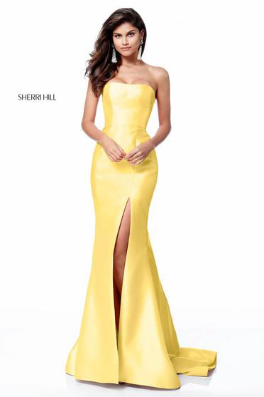 Rochie Sherri Hill 51671 Yellow