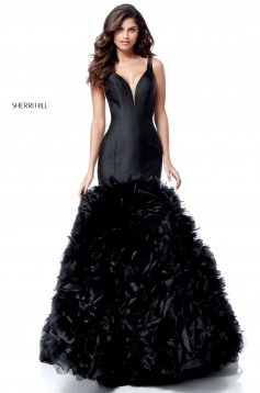 Rochie Sherri Hill 51678 Black