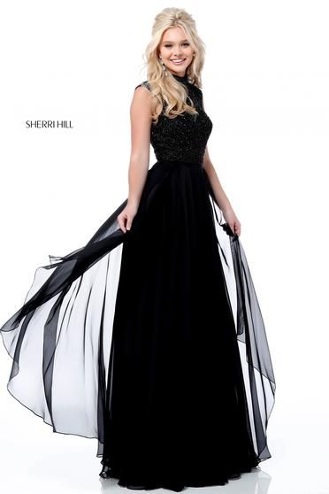 Rochie Sherri Hill 51687 Black