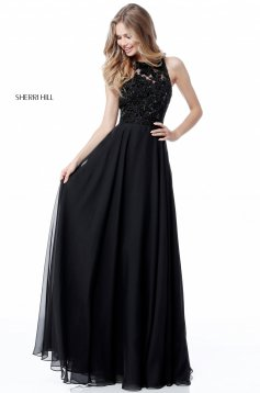Rochie Sherri Hill 51694 Black