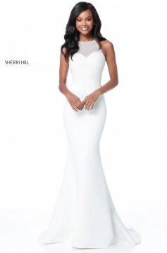 Rochie Sherri Hill 51697 White