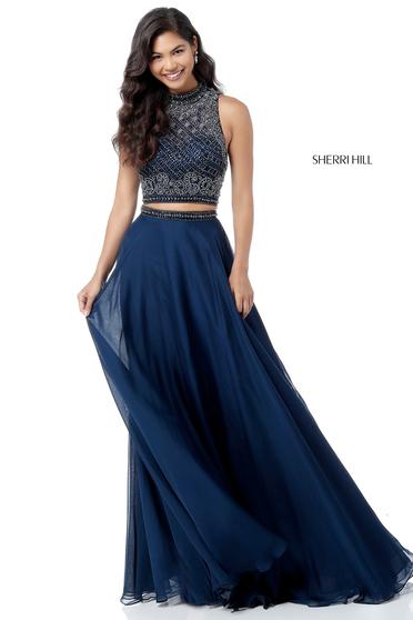 Rochie Sherri Hill 51724 Black