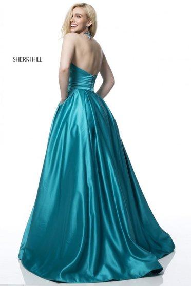 Rochie Sherri Hill 51729 Turquoise