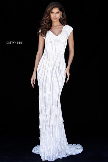 Rochie Sherri Hill 51736 White