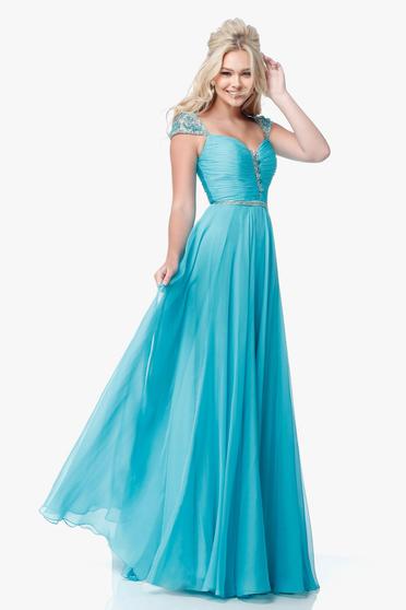 Rochie Sherri Hill 51744 Blue