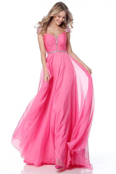 Rochie Sherri Hill 51744 Pink
