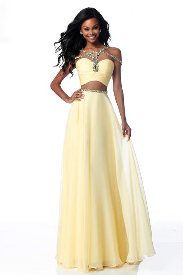 Rochie Sherri Hill 51812 Yellow