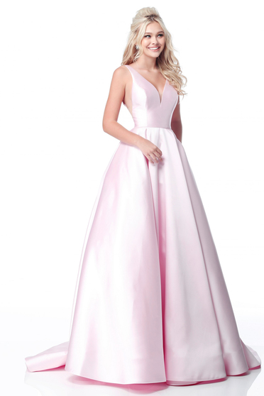 Rochie Sherri Hill 51856 Pink