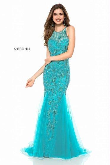 Rochie Sherri Hill 51939 jade