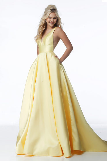 Rochie Sherri Hill 51856 Yellow