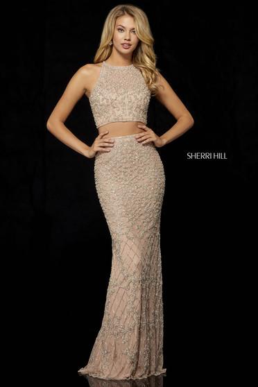 Rochie Sherri Hill 52088 Nude