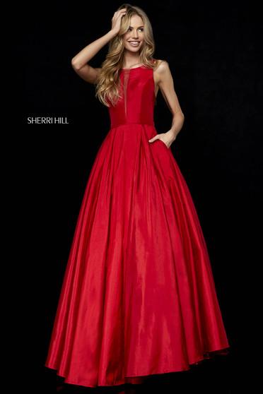 Rochie Sherri Hill 52121 red