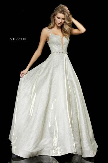 Rochie Sherri Hill 52124 Gold