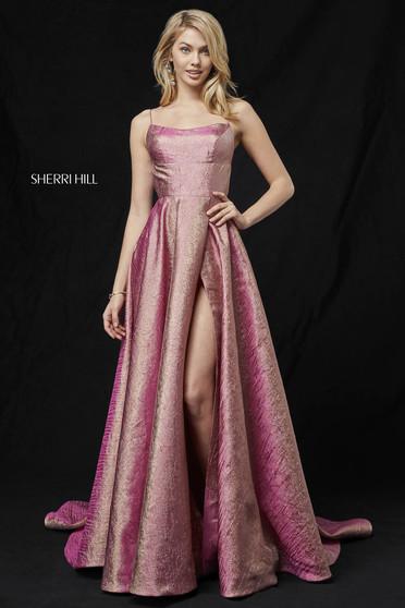 Rochie Sherri Hill 52140 rose/gold