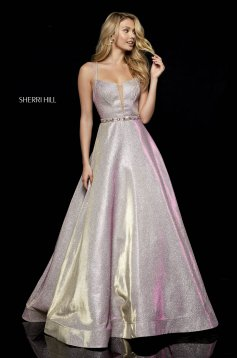 Rochie Sherri Hill 52124 Rosa