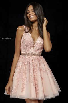 Rochie Sherri Hill 52157 Rosa