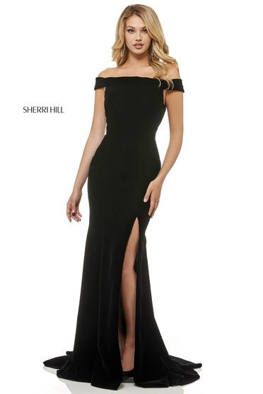 Rochie Sherri Hill 52180 Black
