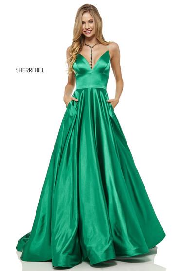 Rochie Sherri Hill 52195 Green