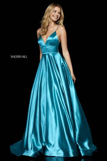 Rochie Sherri Hill 52195 Turquoise