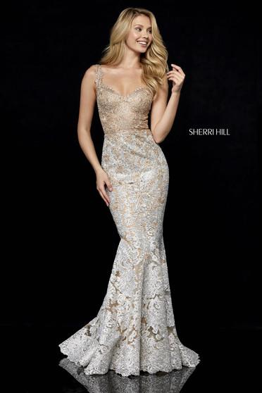 Rochie Sherri Hill 52242 Gold