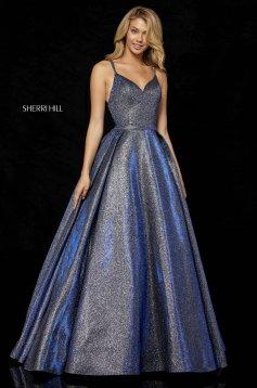 Rochie Sherri Hill 52364 Blue