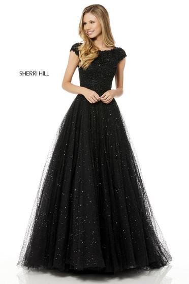 Rochie Sherri Hill 52365 Black