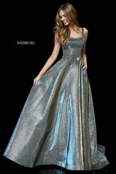 Rochie Sherri Hill 52138 Green