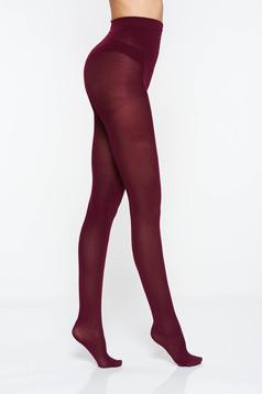 Burgundy women`s tights