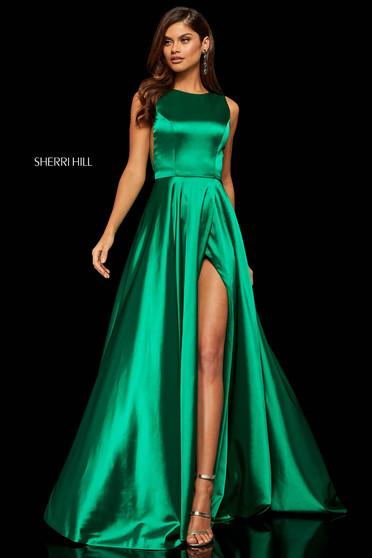 Rochie Sherri Hill 52407 Green