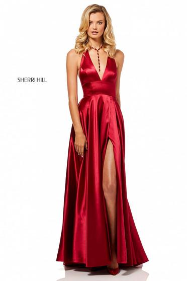 Rochie Sherri Hill 52408 Red