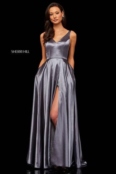 Rochie Sherri Hill 52410 Grey