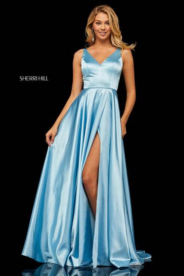 Rochie Sherri Hill 52410 LightBlue
