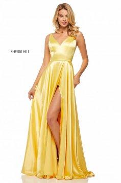 Rochie Sherri Hill 52410 Yellow