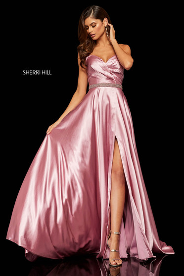 Rochie Sherri Hill 52415 Rosa