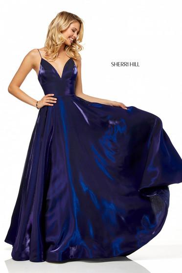 Rochie Sherri Hill 52424 DarkBlue