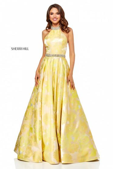 Rochie Sherri Hill 52425 Yellow