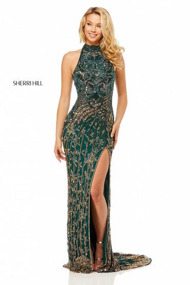 Rochie Sherri Hill 52426 Green