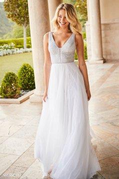 Rochie Sherri Hill 52463 White