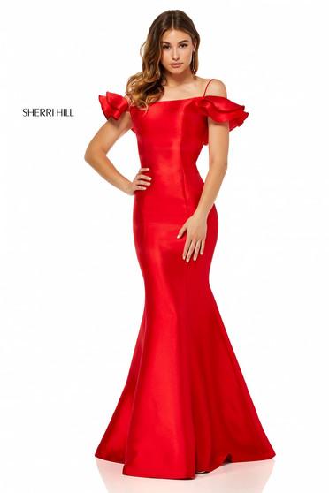 Rochie Sherri Hill 52467 Red