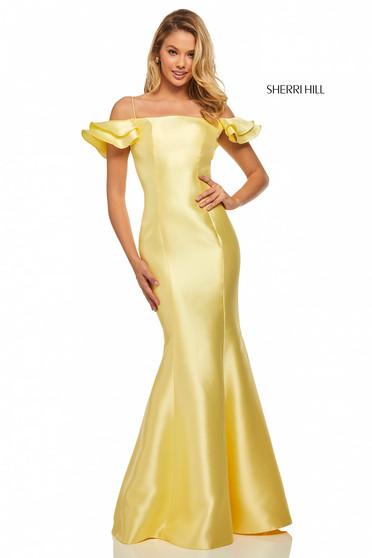 Rochie Sherri Hill 52467 Yellow