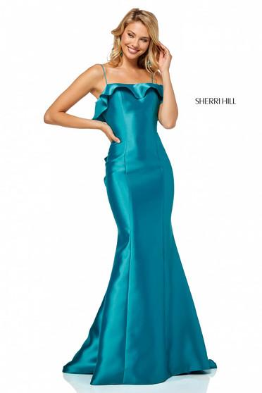 Rochie Sherri Hill 52471 Turquoise