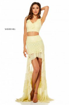 Rochie Sherri Hill 52472 Yellow