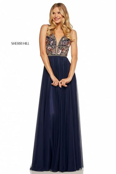 Rochie Sherri Hill 52473 DarkBlue